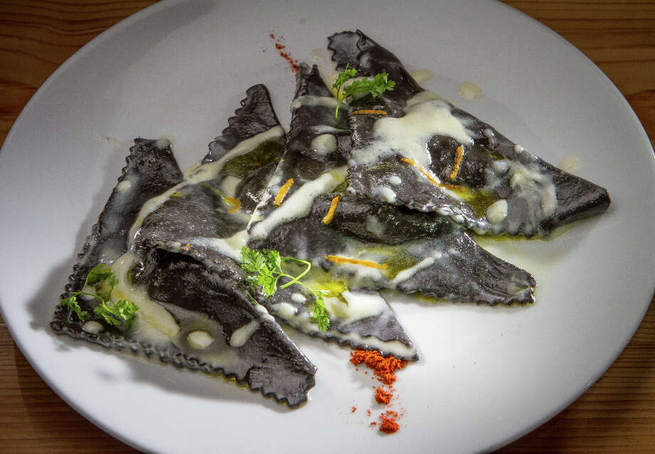 The Black Ravioli at Belli Osteria. Photo: John Storey, Special To The Chronicle / John Storey