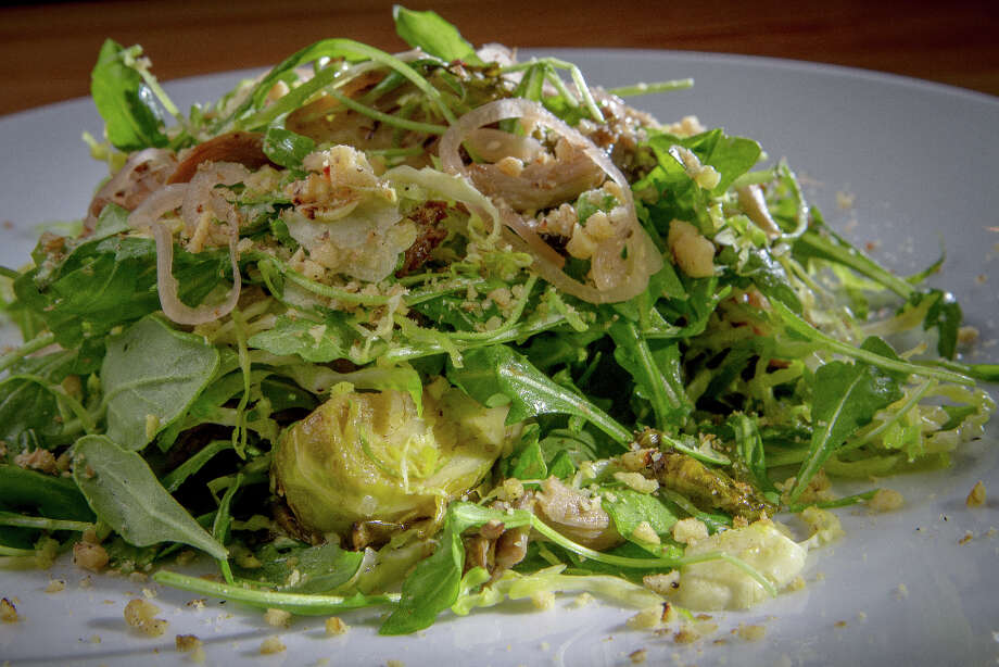 Brussel Sprouts two-way salad at Belli Osteria. Photo: John Storey, Special To The Chronicle / John Storey