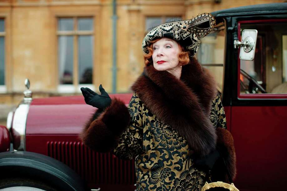 """Shirley MacLaine plays a tart-tongued American in season three of """"Downton Abbey."""" Photo: New York Times / CARNIVAL FILM & TELEVISION FOR M"""