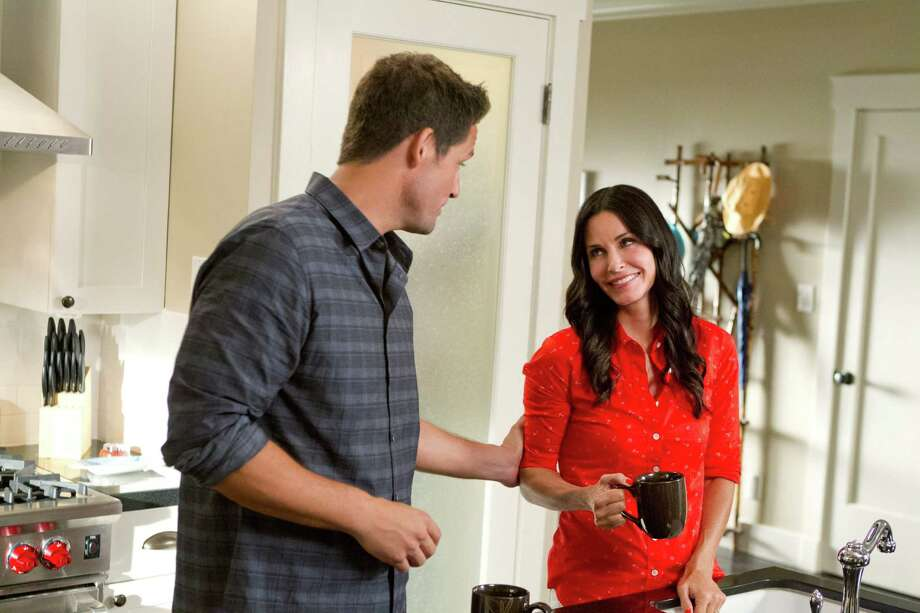 """Cougar Town,"" sort of a ""Friends"" for 40-somethings starring Courteney Cox, has found new life on cable station TBS. Photo: TBS"
