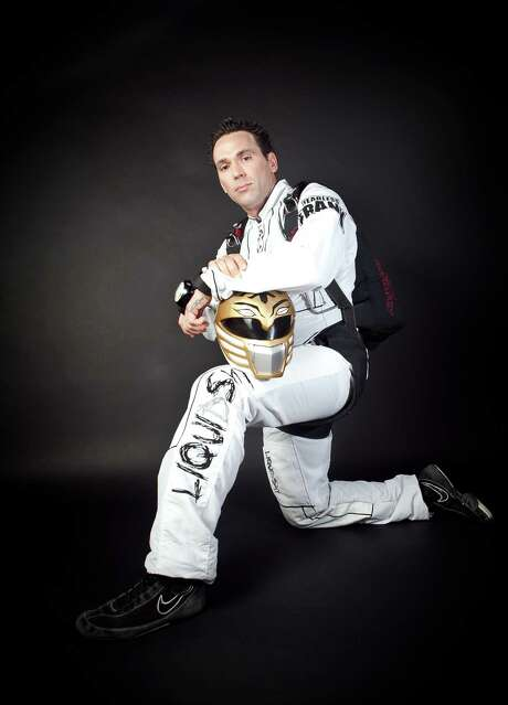 Jason David Frank, who runs a martial arts school in Kingwood and enjoys skydiving, played a Power Ranger on TV for nearly two decades. Photo: Courtesy