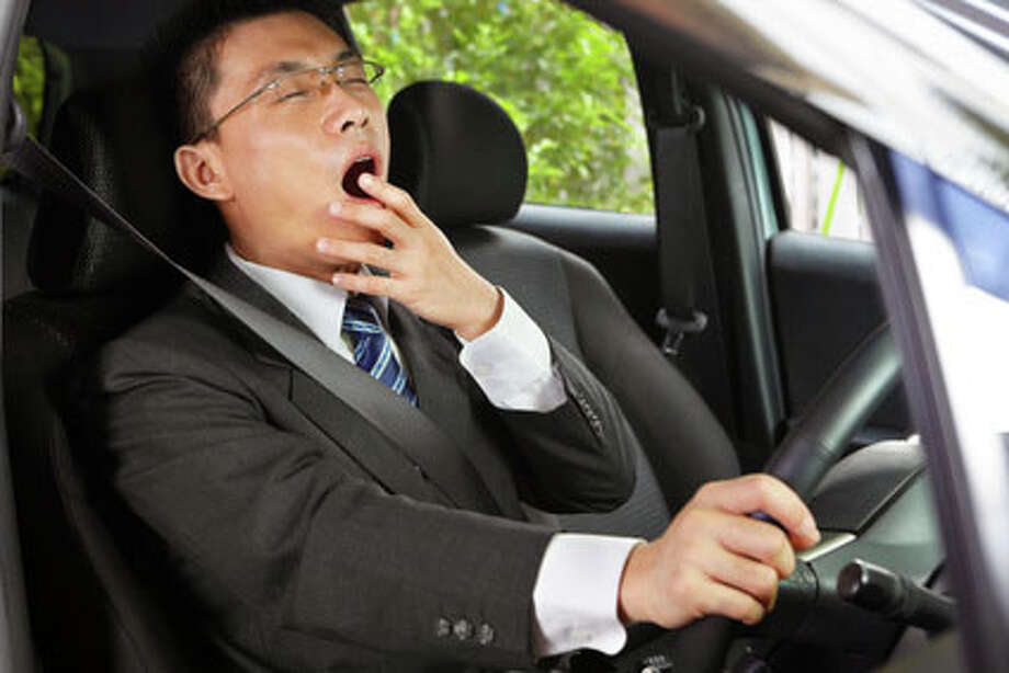To prevent drowsy driving, health officials recommend getting 7 to 9 hours of sleep each night, treating any sleep disorders and not drinking alcohol before getting behind the wheel. Photo: Photographer:Rudyanto Wijaya, Fotolia File / Copyright:Rudyanto Wijaya