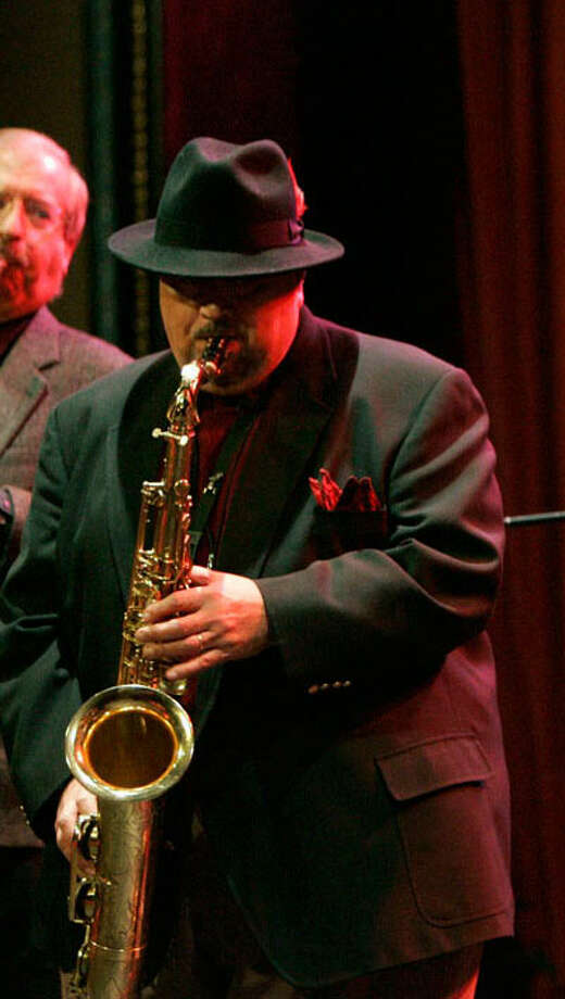 Richard Garcia is a master on sax, flugelhorn and trumpet. He anchors Thursday's jazz night at Joe Blue's. J. Michael Short / For the Express-News