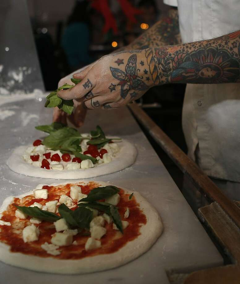 Chef Anthony Mangieri offers exactly five pizzas at Una Pizza Napoletana in his constant quest for perfection. Photo: Liz Hafalia, The Chronicle