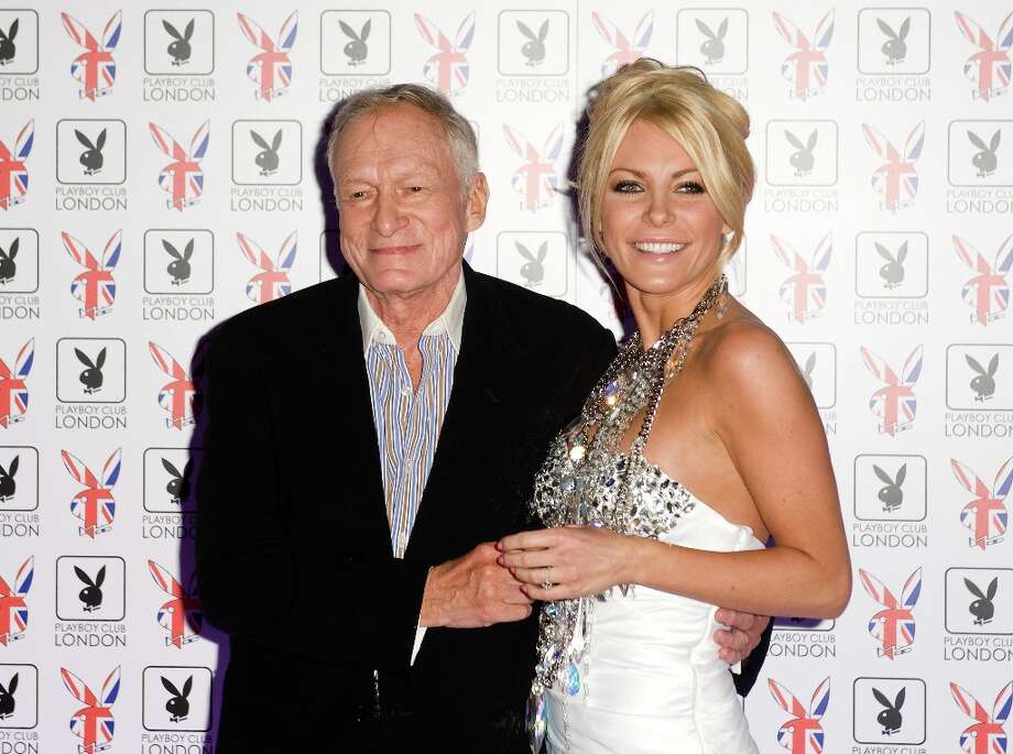 The happy couple at a launch party of the Playboy Club in London.  Photo: Samir Hussein, Getty Images / 2011 Samir Hussein