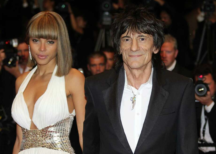 Before Ronnie Wood got married, he was dating model Ana Araujo in 2011. She was 30 at the time.  Photo: VALERY HACHE, AFP/Getty Images / 2011 AFP