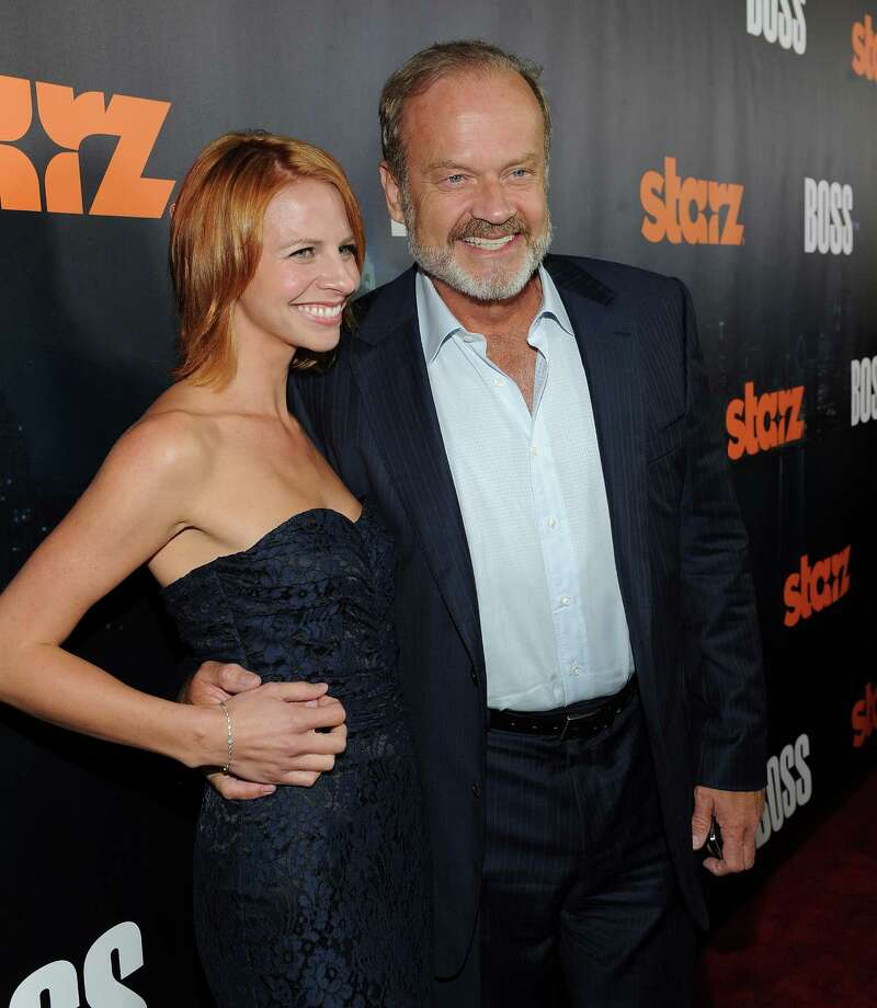 Kelsey Grammer, 57, with wife Kayte Grammer, who's 32. They were married in 2012.  Photo: Michael Buckner, Getty Images For STARZ / 2011 Getty Images