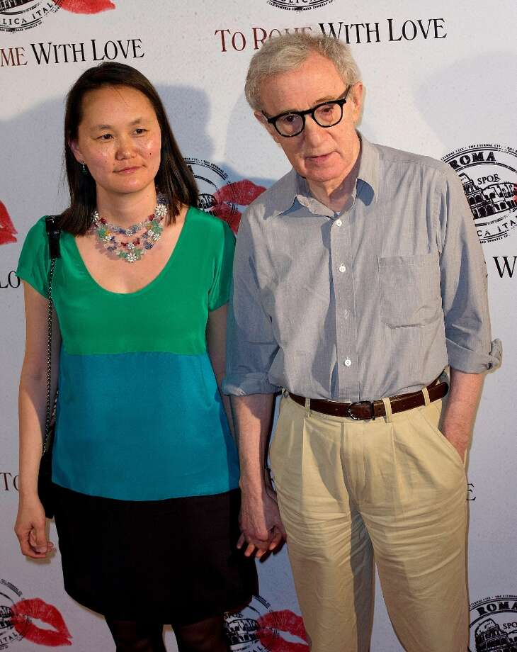 Woody Allen, 77, and wife Soon-Yi Previn, 42, in June of 2012. Photo: Kristy Sparow, Getty Images / 2012 Kristy Sparow