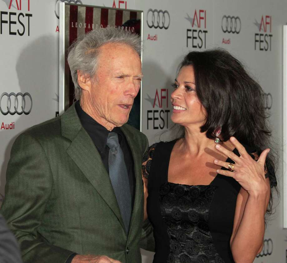 Clint Eastwood, 82, and wife Dina Eastwood, 47.  Photo: Frederick M. Brown, Getty Images / 2011 Getty Images