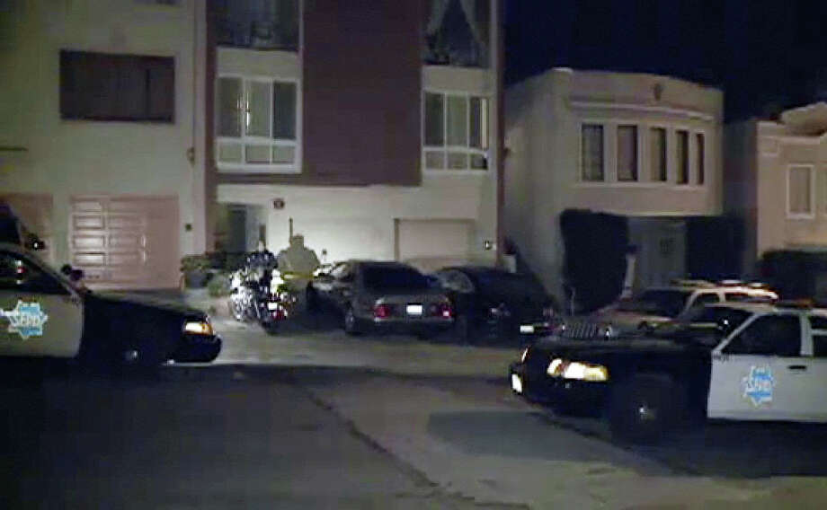 Police are searching for five armed men in connection with a home invasion robbery in San Francisco's Outer Richmond neighborhood early Thursday morning. Photo: CBS San Francisco