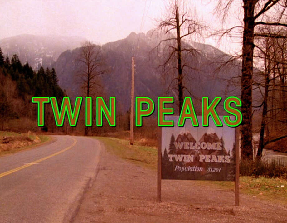 The title scene from the pilot episode of the television series 'Twin Peaks,' originally broadcast on April 8, 1990. It was filmed on Reinig Road in Snoqualmie, Washington. (Photo by CBS Photo Archive/Getty Images) Photo: CBS Photo Archive, Getty Images / 2008 CBS WORLDWIDE INC.