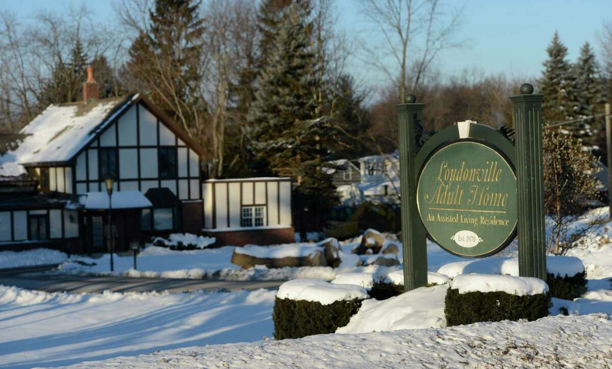 Exterior view of the Loudonville Adult Home Thursday Jan. 3, 2013, in Loudonville, N.Y. (Skip Dickstein/Times Union)
