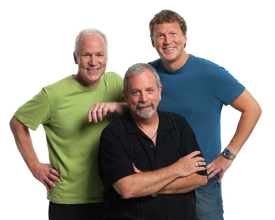 RiffTrax (from left, Bill Corbett, Kevin Murphy and Michael J. Nelson) Photo: Seth Mayer / © Seth Mayer 2010