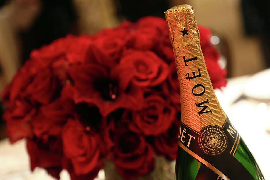 Moet 2004 Grand Vintage Brut Champagne will also be served at the Jan. 13 awards ceremony. Photo: Matt Sayles/Invision/AP