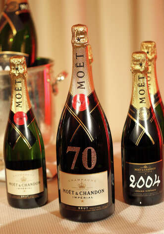 Moet 2004 Grand Vintage Brut Champagne. Photo: Matt Sayles/Invision/AP
