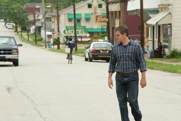 Credit: Scott Green/Focus Features Matt Damon in Promised Land