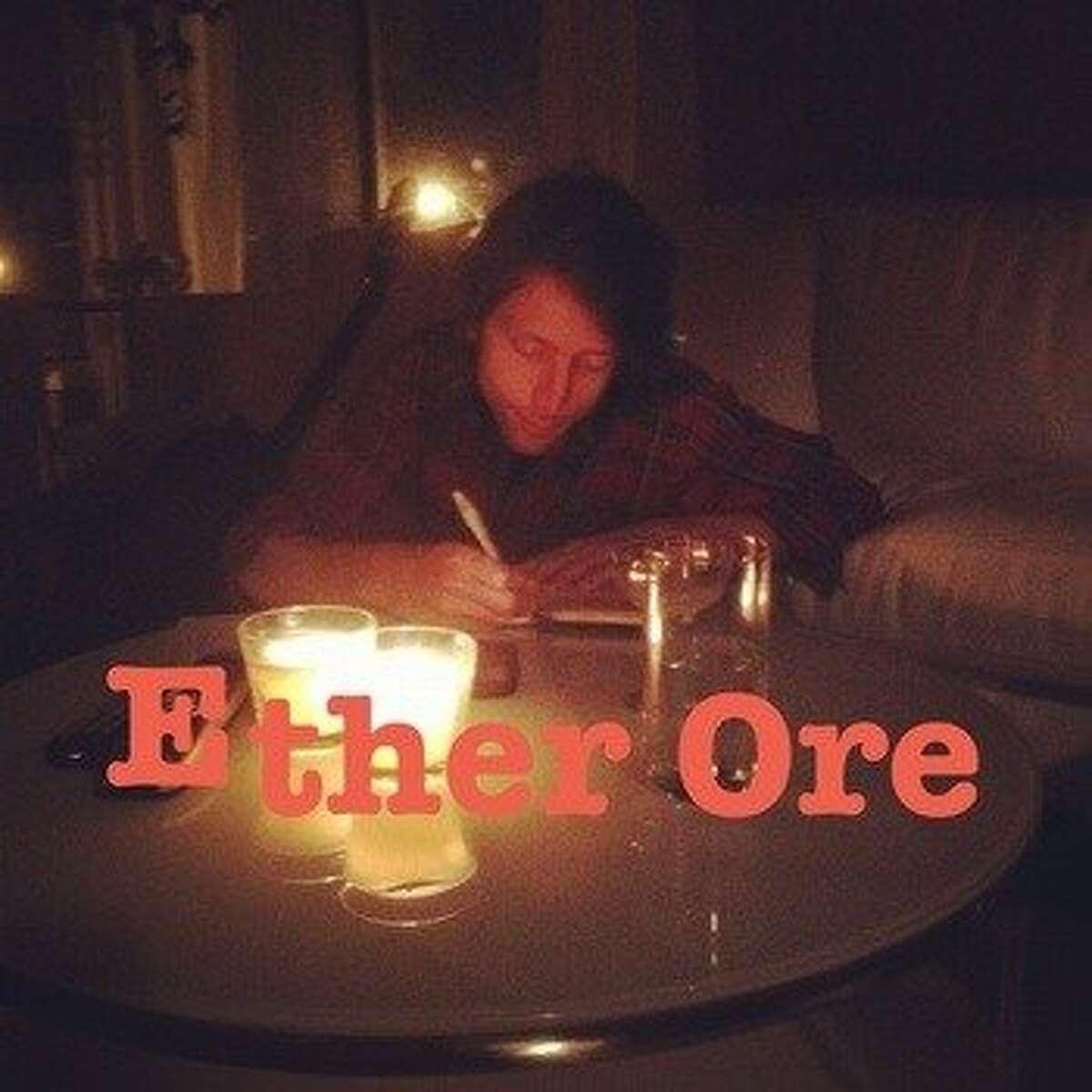 cd cover ETHER ORE by Luke Sweeney