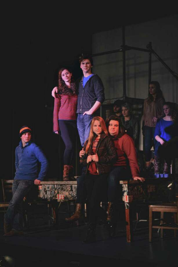Featured cast member for the C-R Kids production of ??Rent: School Edition?? include Matt Serianni, Sara Donellan, Jacob Shipley, Margaret Warrington and Emily Louise Franklin. (Theresa M. Thibodeau)