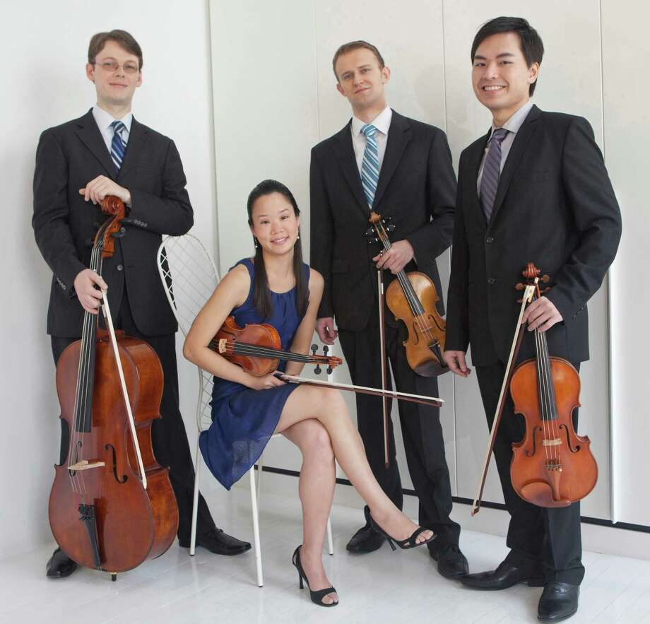 Music for Youth will hold its first Free Young Persons' Concert of 2013 with a performance by the Amphion String Quartet at 2 p.m. Saturday, Jan. 5, at Pequot Library, 720 Pequot Ave., Fairfield. Photo: Janette Beckman/contributed Phot