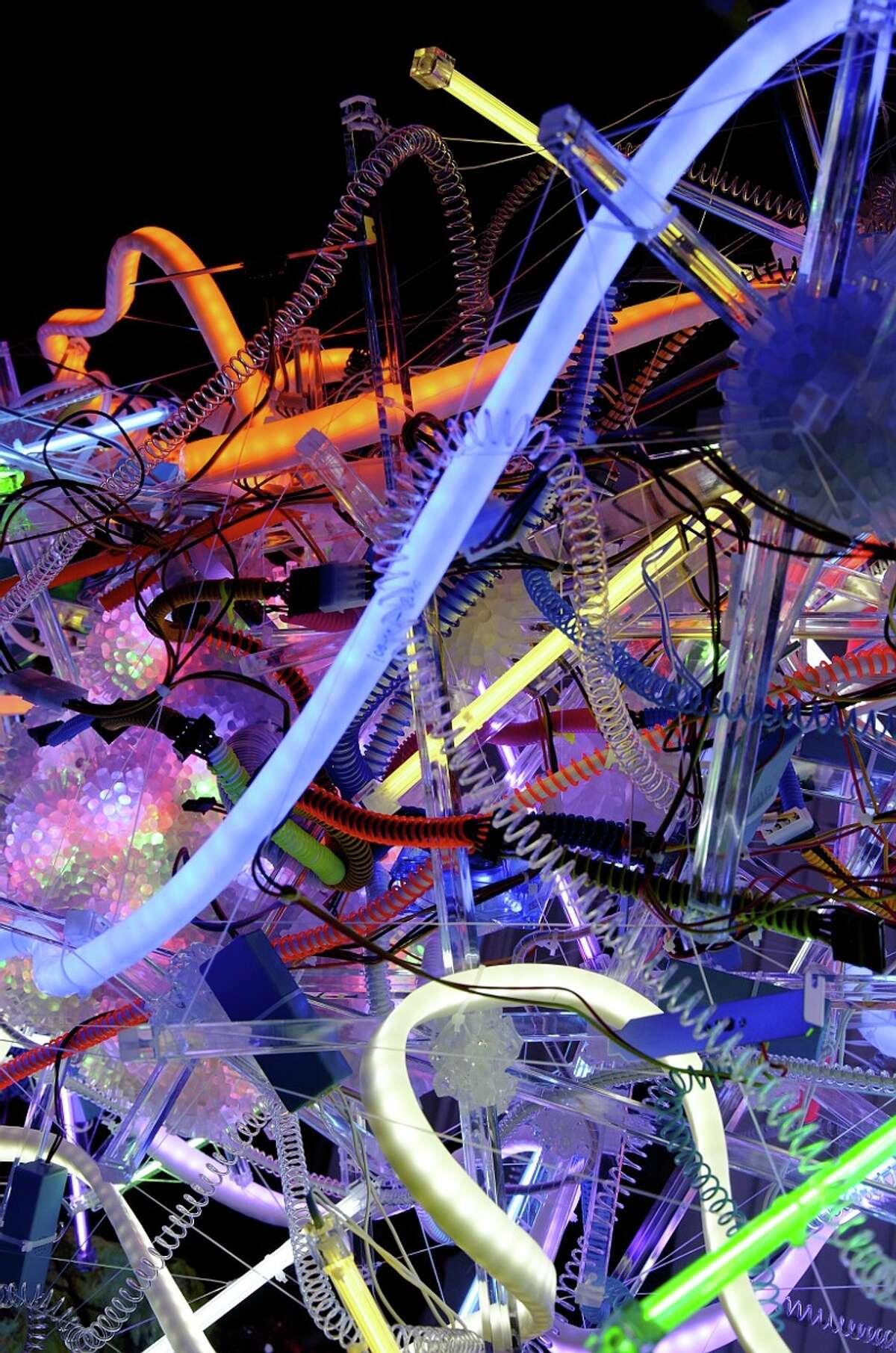 "Adela Andea's ""Mandragora: Liquescent Light"" is on view Jan. 11-Feb. 9 at Anya Tish Gallery."