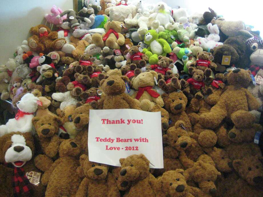 "The annual ""Teddy Bears with Love Drive"" organized by Fairfield University's Student Alumni Association recently gave over 1,400 teddy bears to children's hospitals and charities from Boston, Mass., to Washington, D.C. Photo: Contributed Photo"