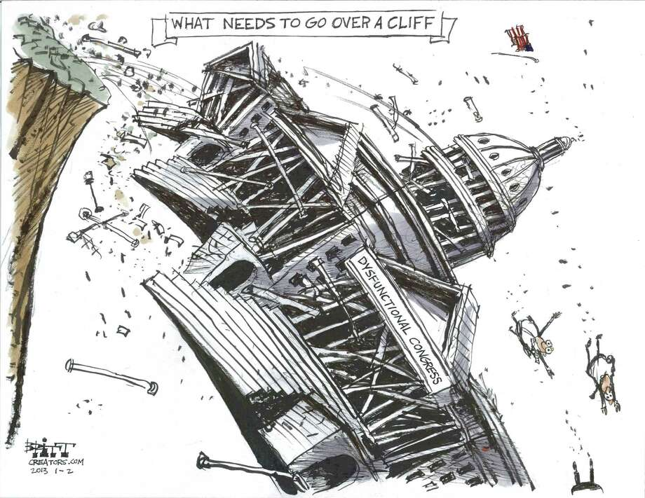 Congressional cliff