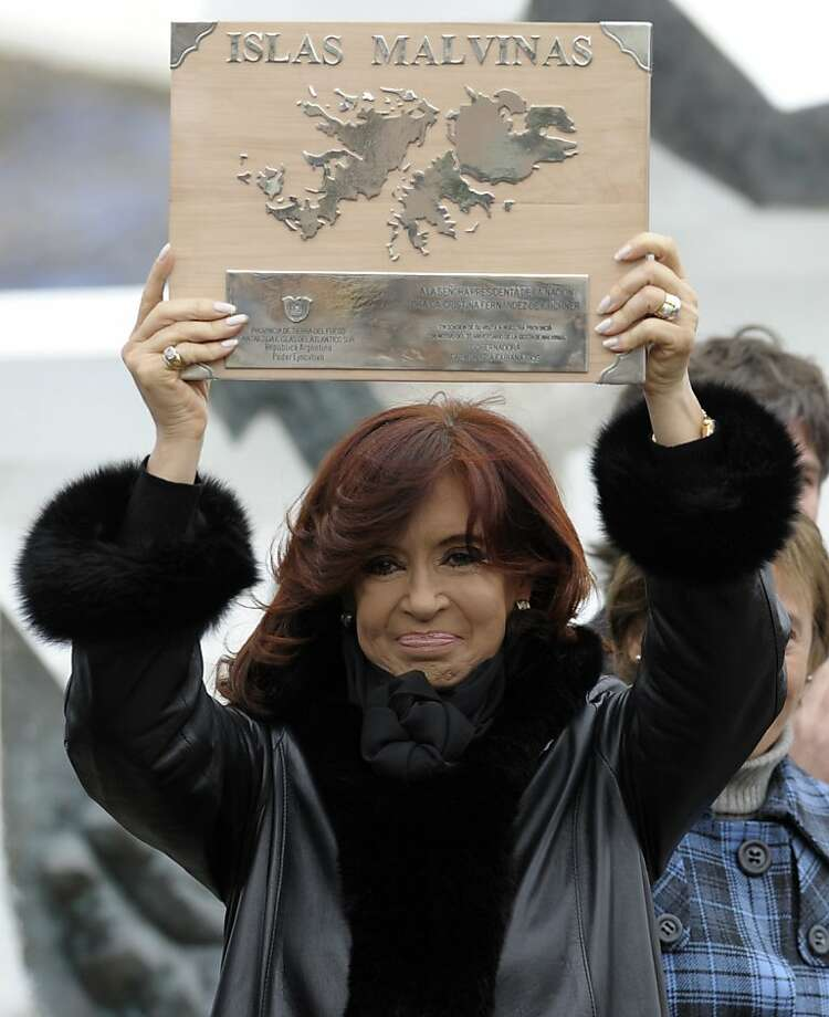 Argentine President Cristina Fernandez issues an open letter. Photo: Juan Mabromata, AFP/Getty Images