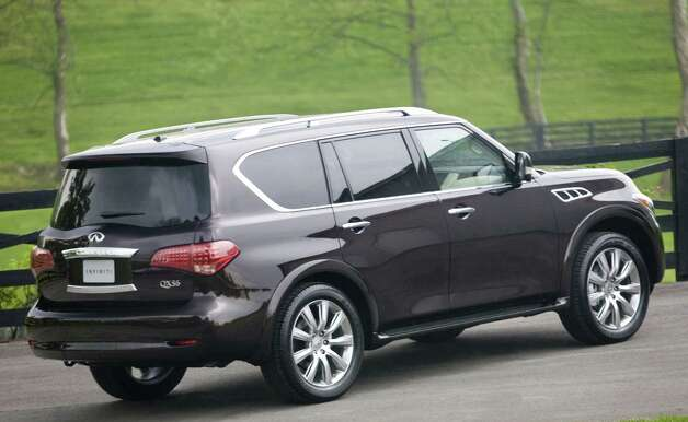 The 2013 Infiniti QX56 is a premium family hauler with lots of power, a smooth ride and a long list of available high-tech features. Photo: Nissan, Nissan North America / Copyright 2012