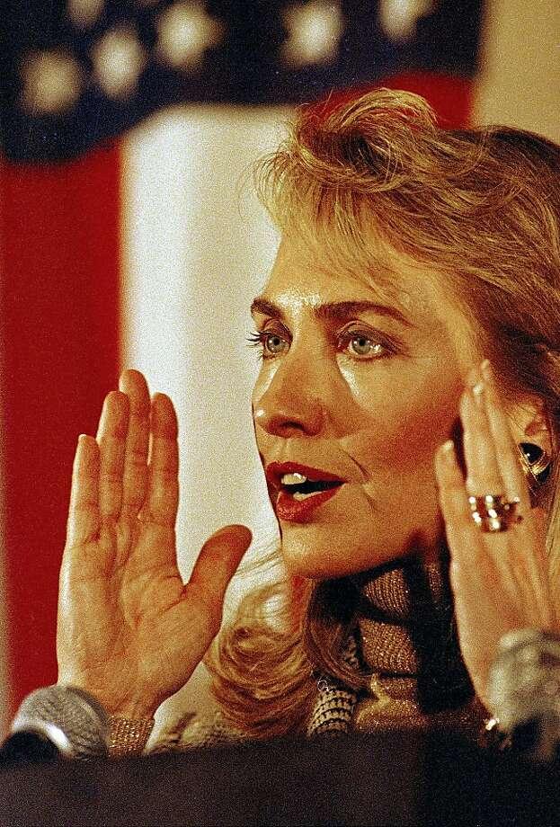 Hillary Rodham Clinton Photo: Stephan Savoia, AP