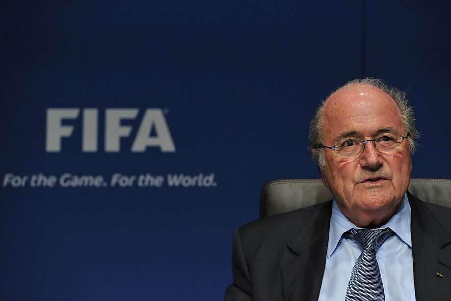 FIFA president Sepp Blatter said MLS isn't really a pro league. Photo: Harold Cunningham, Getty Images