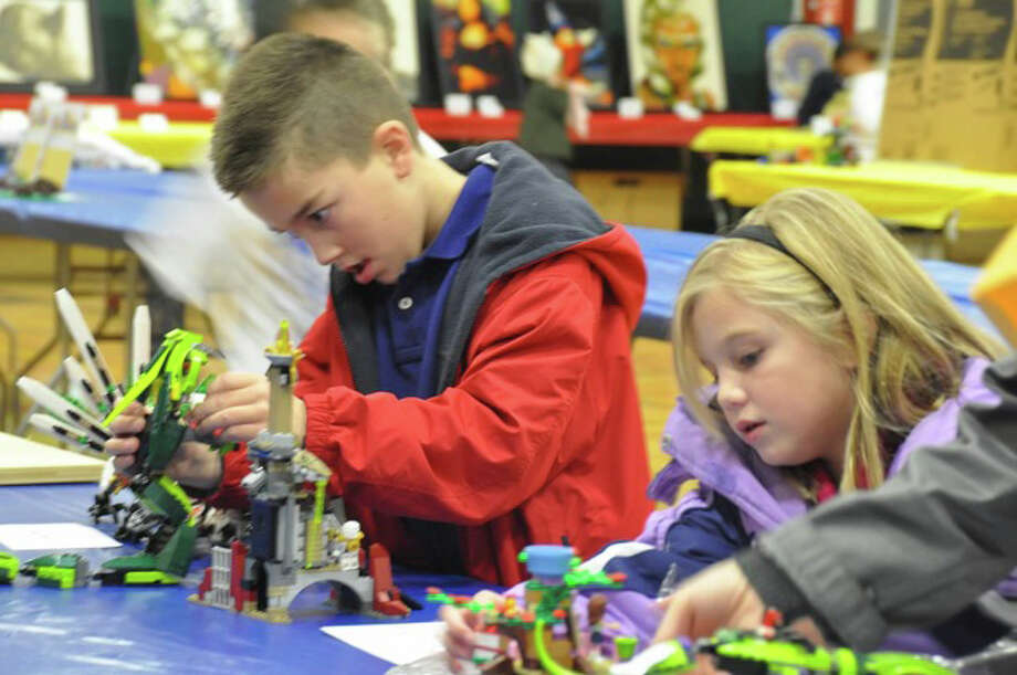 The Discovery Museum, in Bridgeport, will host a Lego Block Party, Saturday and Sunday, Jan. 12-13, featuring several adult master builders and activities for kids. Photo: Contributed Photo