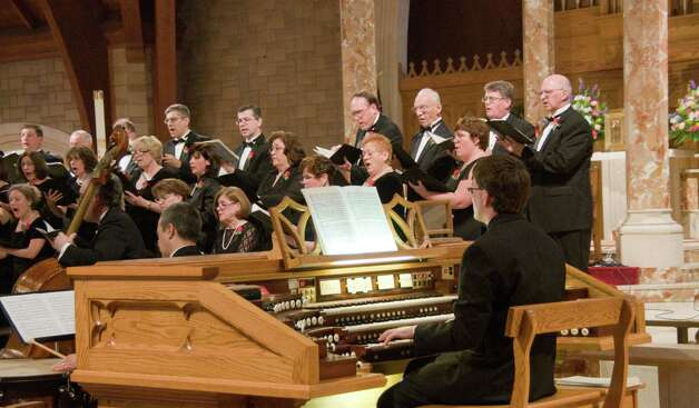 The Connecticut Chamber Choir kicks off its 35th season on Sunday, Jan. 13, with a 4 p.m. concert in Trumbull. At right is pianist/organist Jeffrey Wood. Photo: Contributed Photo