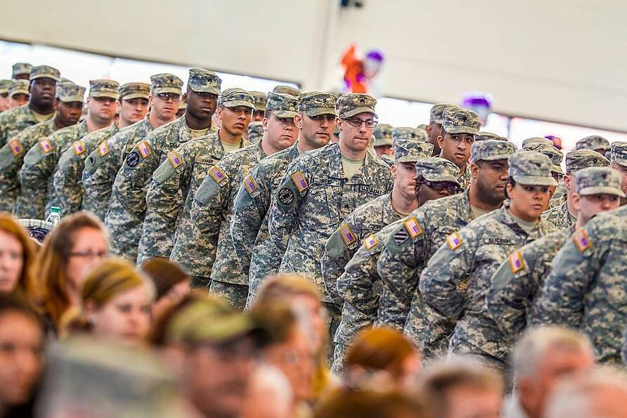 Delaware National Guardsmen of the 153rd Military Police Company deploy for training in New Jersey b