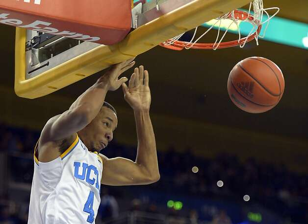 UCLA guard Norman Powell dunks during the second half of their NCAA basketball game against California, Thursday, Jan. 3, 2013, in Los Angeles. UCLA won 79-65. (AP Photo/Mark J. Terrill) Photo: Mark J. Terrill, Associated Press