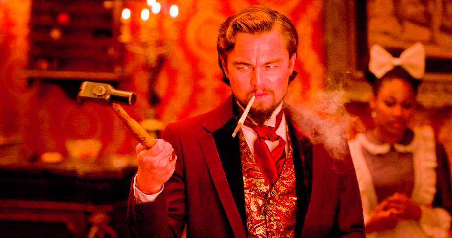 Andrew Cooper/The Weinstein Company Calvin Candie (Leonardo DiCaprio) in Django Unchained. Mick LaSalle has said this film is appropriately rated R. (© 2012 The Weinstein Company) Photo: ANDREW COOPER SMPSP / © 2012 The Weinstein Company