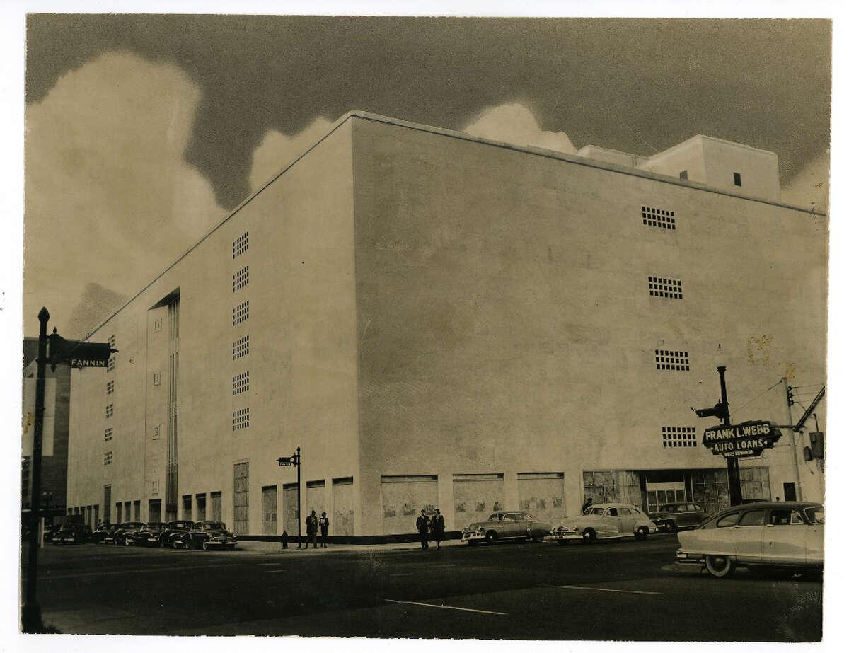 Downtown Sakowitz store. Dec. 30, 1950.