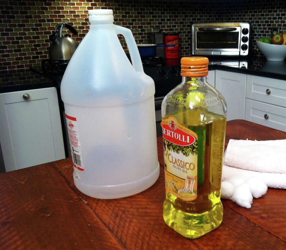Olive oil is an eco-friendly ingredient that can be used to do all sorts of things around the home. Photo: HANDOUT, HO / MCT