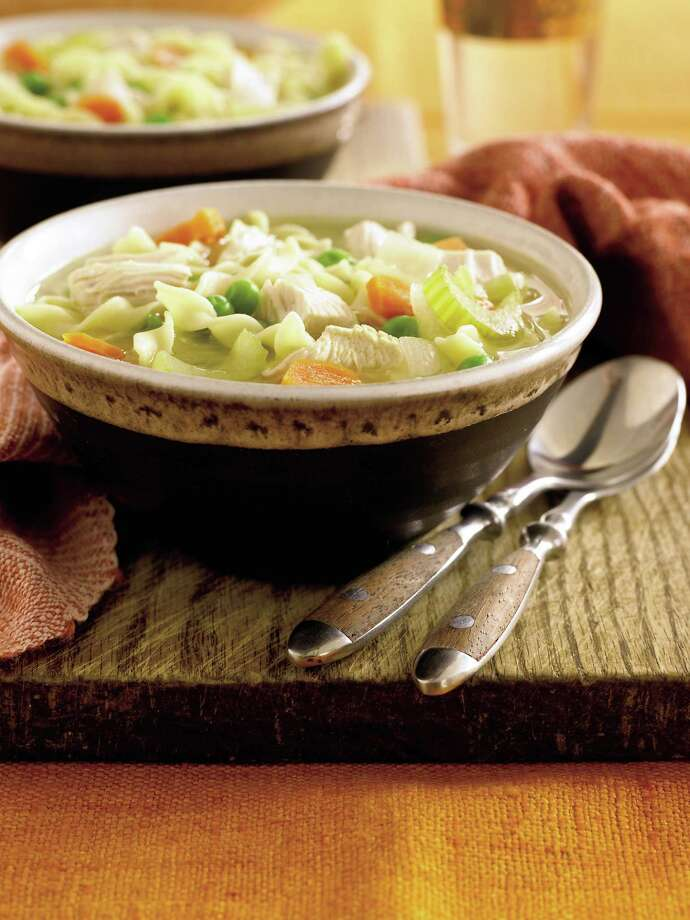 Chicken noodle soup can be part of a healthful diet. Photo: David Prince / handout web