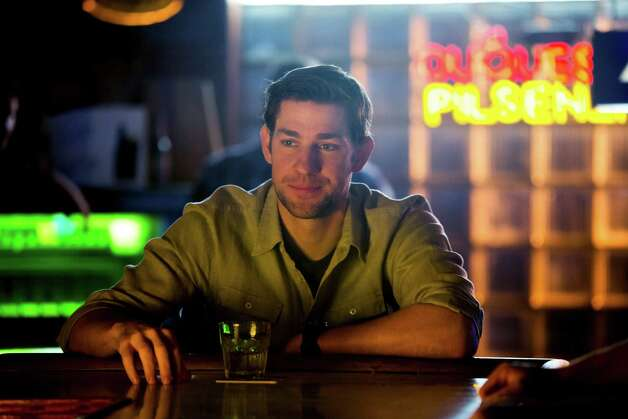 "In this undated publicity film image John Krasinski stars as Dustin Noble in Gus Van Sant's contemporary drama, ""Promised Land, "" a Focus Features release. (AP Photo/Focus Features, Scott Green) Photo: AP, HOEP / Focus Features"