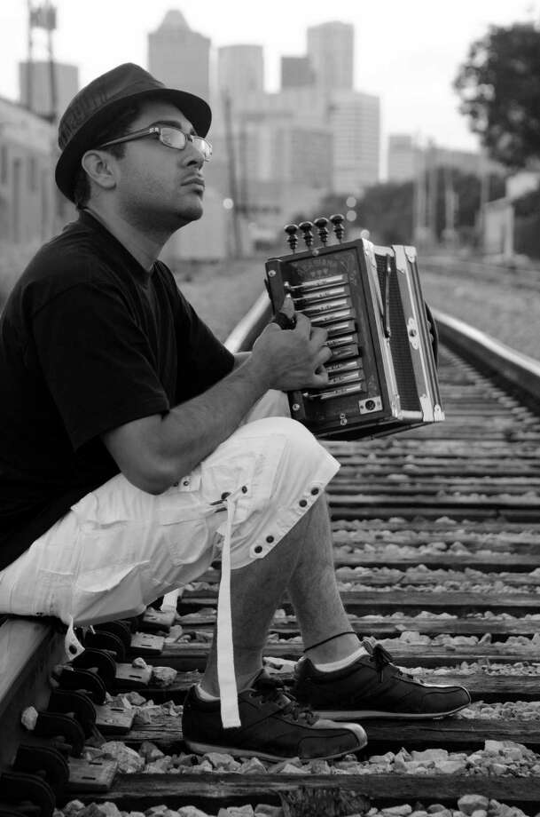 Accordionist and singer Ruben Moreno will play Luna with his band Zydeco Re-Evolution. Photo: Courtesy Guy Michaels