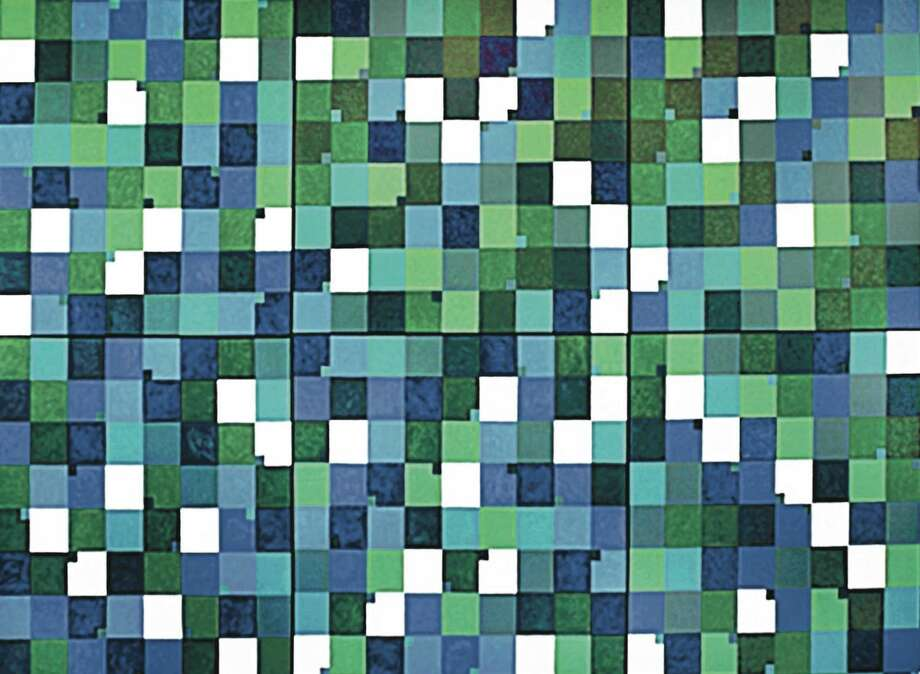 """Awash in Blue and Green,"" will be among the works at a retrospective for the late artist Tina Rohrer, which runs Jan. 6 to Feb. 17, 2013, at the Silvermine Arts Center in New Canaan, Conn. Works by artist Donald Axleroad, pieces by five new members and selections from the center's print collection also will be on display. For more information, call 203-966-9700 or visit http://www.silvermineart.org. Photo: Contributed Photo"