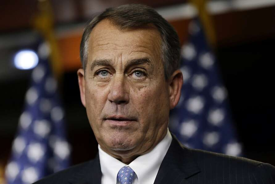 John Boehner survived revolt.
