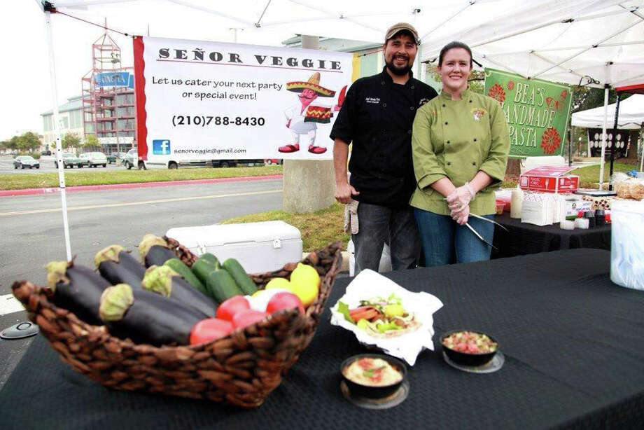 Jose and Tiffany Cruz, Senor Veggie Photo: Courtesy Photo