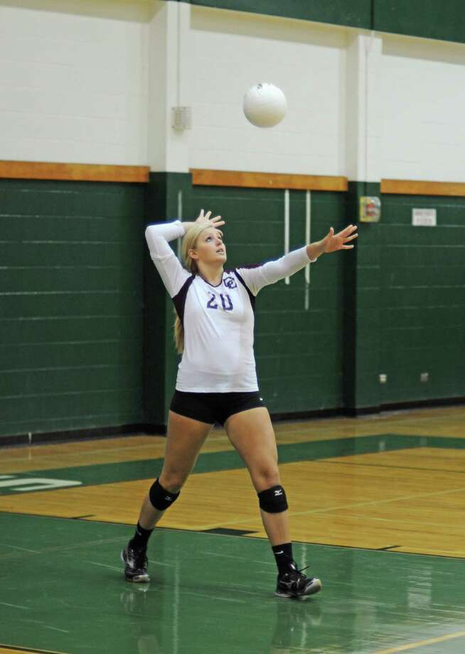 Ashley SmithMiddle blocker/outside hitter, Clear Creek Photo: L. Scott Hainline, The Chronicle / The Chronicle