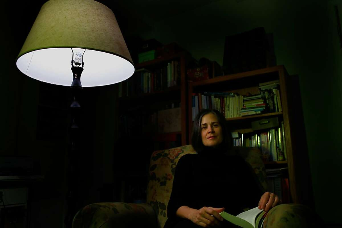 Peg Alford Pursell sits in her office, Thursday Jan.7, 2010 in Sausalito, Calif.