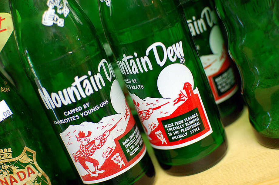MOUNTAIN DEW. How did a drink once marketed to rednecks become a hit with skateboarders? It's probably the caffeine.  Steve Snodgrass/Flickr Creative Commons