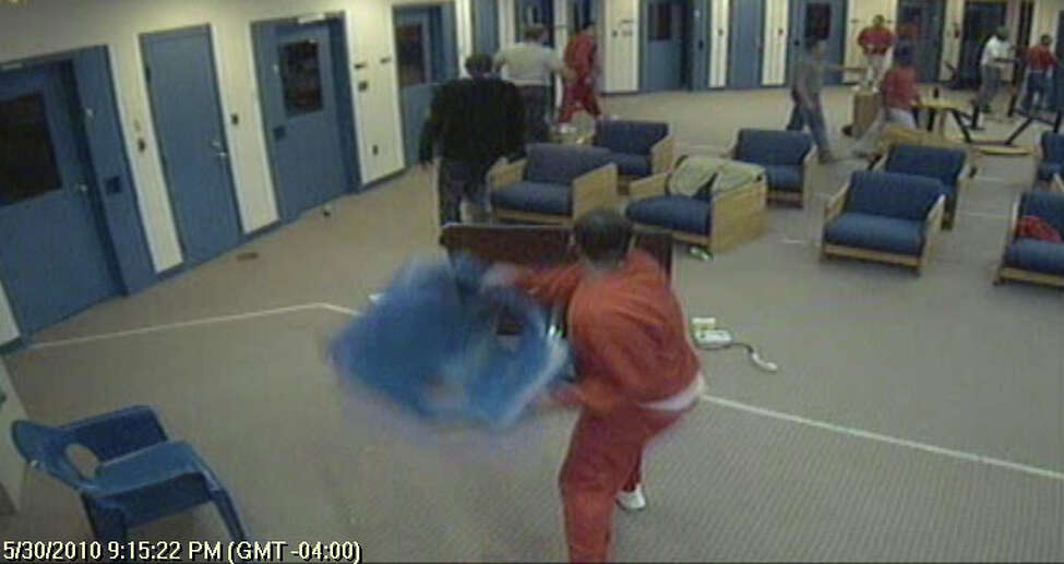 A group disturbance at Brookwood Secure Center on May 30, 2010. (OCFS)