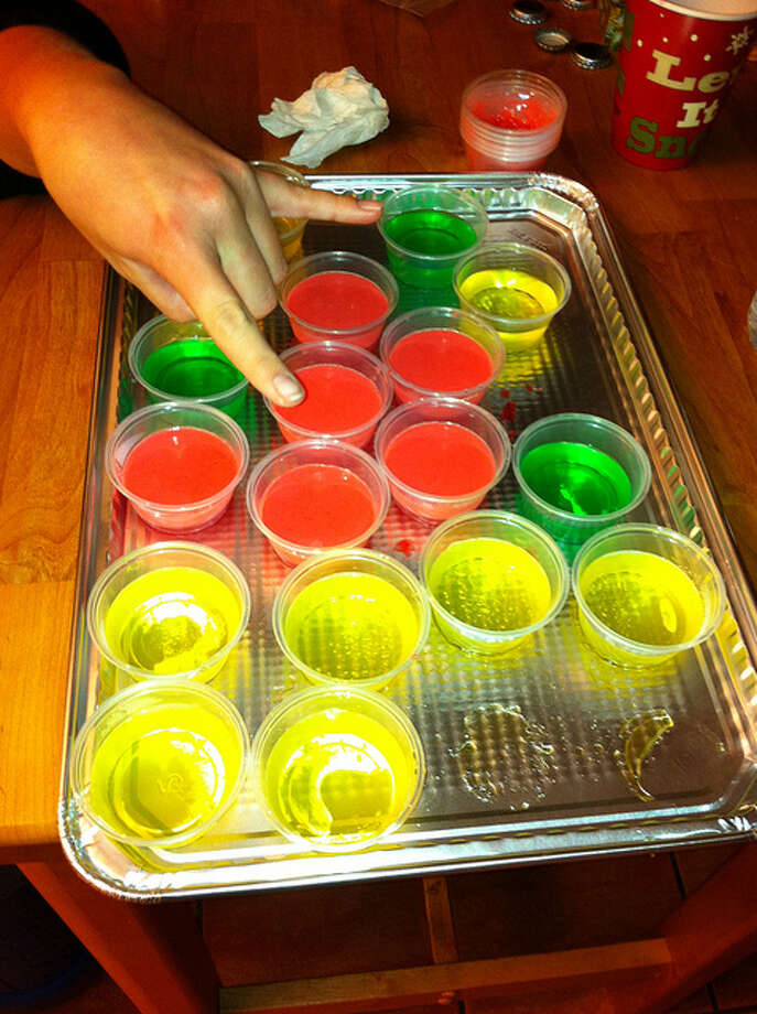 THE JELL-O SHOT. Yeah Bill Cosby never got to endorse these. But your party guests were probably all in favor. herrea/Flickr Creative Commons