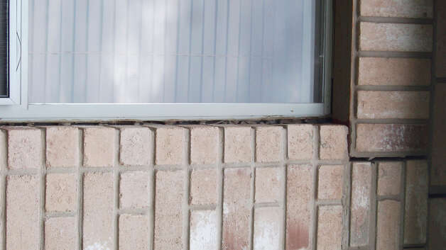 A window separating from a wall is a concern. Photo: Courtesy Of Du-West Inc.