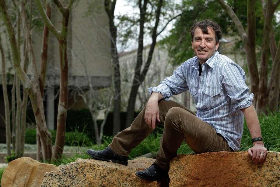 Nick Flynn. Photo: Melissa Phillip, Staff / © 2012 Houston Chronicle